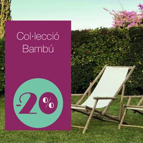 Outdoor furniture on discount the whole summer!