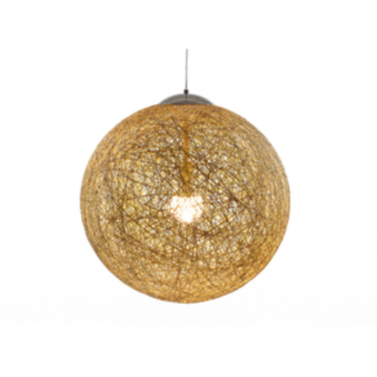Loom suspension lamp