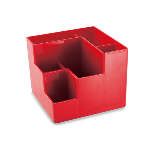 Desktop rotating container