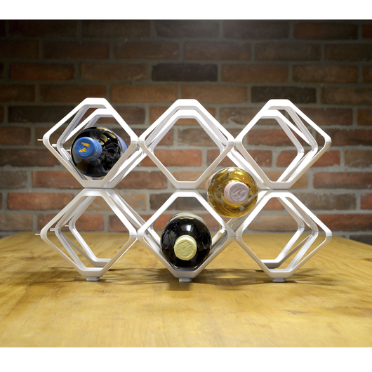 Modular bottle rack