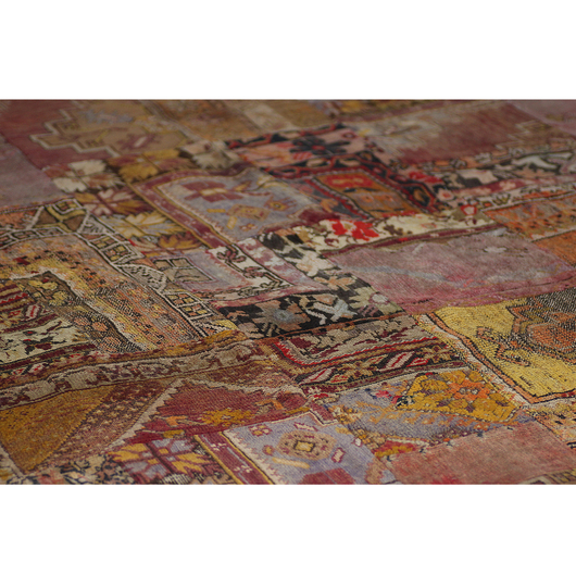 Square meter carpet patchwork